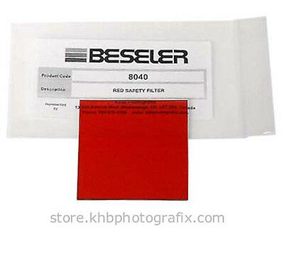 #8040 Red Safety Filter for Beseler Enlargers