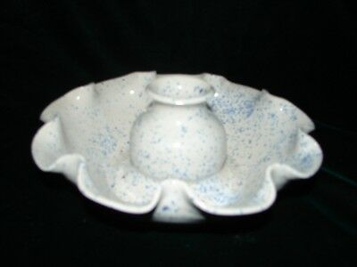 North Carolina Shelton Pottery Candlestick