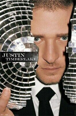 Justin Timberlake Poster - Amazing Disc0 Shot - New
