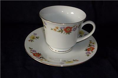DYNASTY CHINA, DALIAN PATTERN (3) CUPS AND SAUCERS