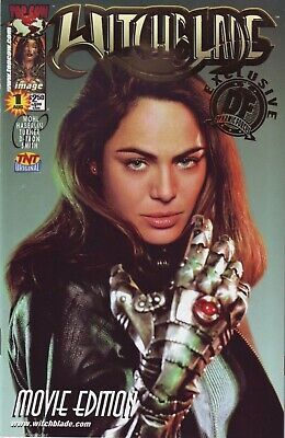 Witchblade #1 Movie Edition Dynamic Forces Gold Foil