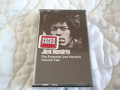 The Essential Jimi Hendrix Volume Two Vol 2 Cassette New Sealed 10 Tracks No Upc