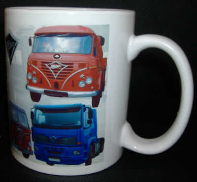 Foden Truck / Classic Lorry Mug.limited Edition Design For Truckers Collectors *