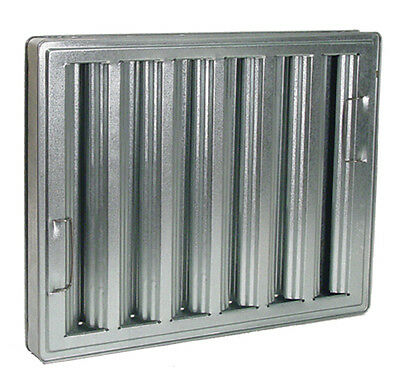 Exhaust Hood GREASE FILTER Baffle16X20 Galvanized 31160