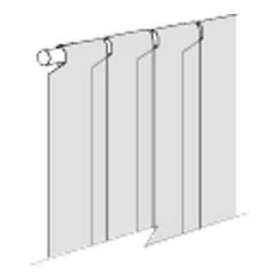 REPLACEMENT SECTION for Strip Curtain 6x84 Loop 23316