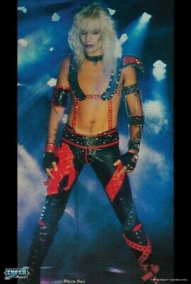 MOTLEY CRUE POSTER Vince Neil Early Years RARE HOT NEW