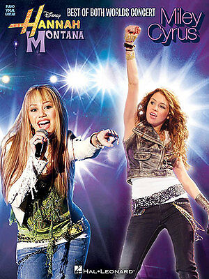 Best of Both Worlds Hannah Montana Piano Music Book PVG