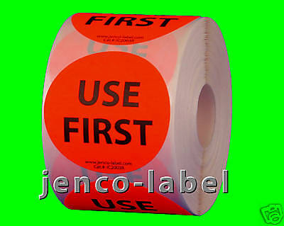 "IC2003R, 500 2"" dia Use First Label/Sticker"