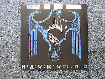 "Hawkwind Night of the Hawks 7"" Single"