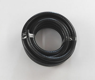 8mm 5/16 BLACK RUBBER PETROL DIESEL FUEL OIL PIPE HOSE PRICED / METRE