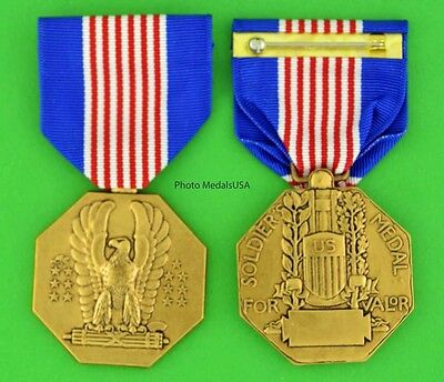 ARMY SOLDIER'S MEDAL - Full size made in the USA - USM028 - Soldier SM