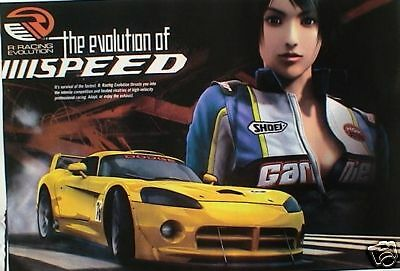 Autos:r Racing-The Evolution Of Speed Sports Car Poster