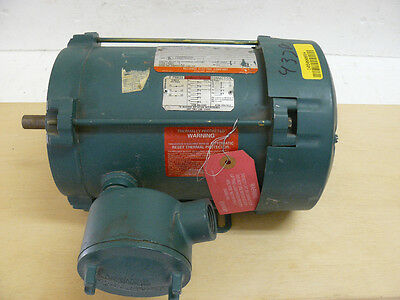 NEW RELIANCE ELECTRIC P56J2437M-PX AC MOTOR 1 HP 3 PH 208-230 VOLT 4.0-4.4 AMP