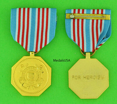 Coast Guard Medal - Full size made in the USA.  USCG USM31