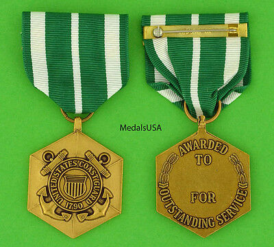 Coast Guard Commendation Medal - Full size made in the USA USCG USM49