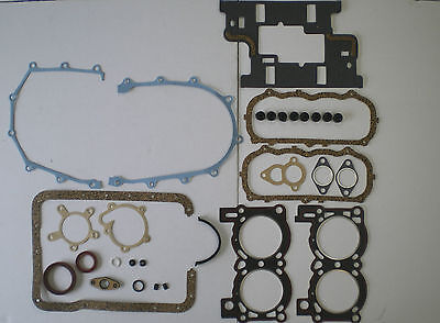 FULL ENGINE HEAD GASKET SET SAAB 95 96 FORD TAUNUS V4 1.5 1.7 1967 on SUMP VRS