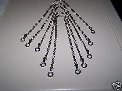 12 inch boat jerry can jeep gas cap bead chain perko retainer laynard military