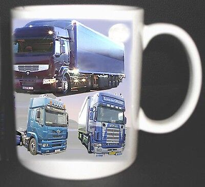 Truck Lorry Drivers  Mug. Limited Edition.scania, Daf. Drivers Poem On Reverse