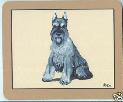 SCHNAUZER Dog Fur Children Computer MOUSE PAD Mousepad