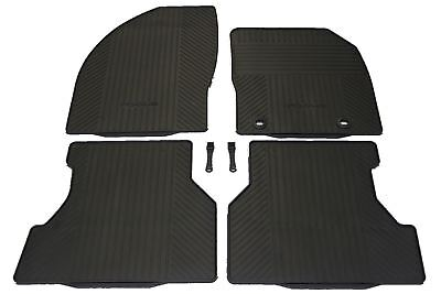 NEW Genuine set of 4 Ford Focus MK2 2005-2011 Rubber Floor Mats (Tailored Fit)
