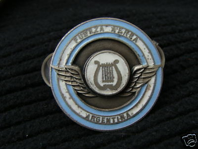 Argentina Air Force Music Band Musician Badge Badges