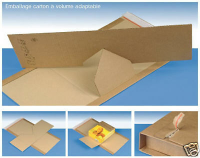 20 Emballages carton adaptables 305x230 Varia X-Pack 3