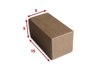 10 boîtes emballages cartons  n° 06   - 190x90x90 mm - simple cannelure