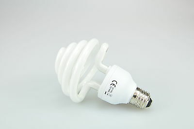 Rocwing Photography Daylight Spiral Bulb 35w E27 for Photo Lighting Studio