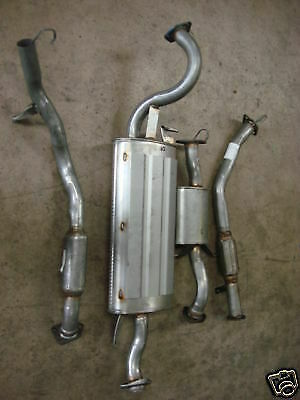 Full Exhaust System Complete 03/00- For Mitsubishi Shogun Sport 2.5 Td