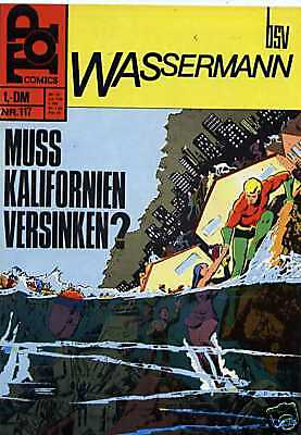 TOP COMICS - Wassermann Heft 117 ( BSV 1969 ) Z 1-
