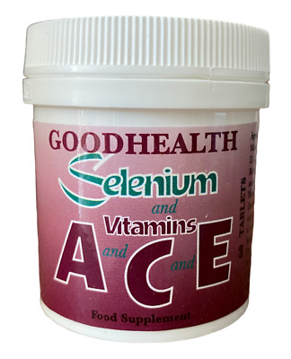 Goodhealth Selenium and Vitamins A C E 180 Tablets - Potted