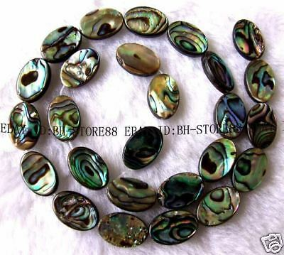 10x15mm Real Natural Abalone Shell Beads 15''