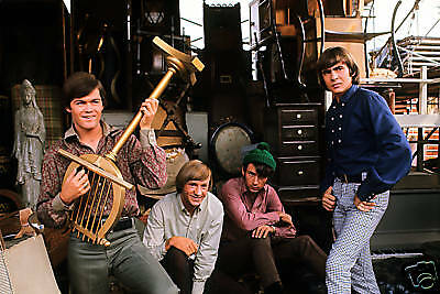 The Monkees Rare Group Photo From Original Transparency