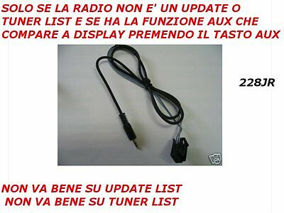 Aux IN Mp3 iPod iPhone Samsung RENAULT dal 2009> TWINGO MEGANE CLIO MODUS SCENIC