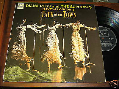Diana Ross & Supremes SOUL MOTOWN LP Talk of the Town
