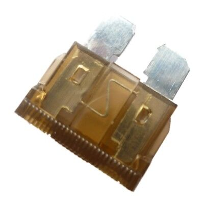 20 x STANDARD (ATO) Blade Type Fuses - 7.5A (BROWN) Car, Motorcycle, Automotive