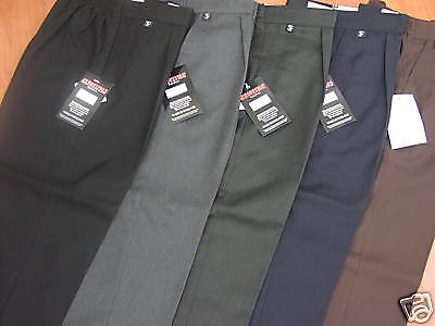 """Wider Fitting School Trousers - All Ages Upto 44"""" Waist"""