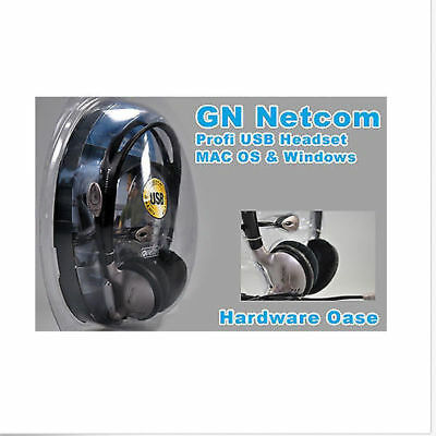 GN Netcom Premium USB Headset für Apple Mac OS Windows