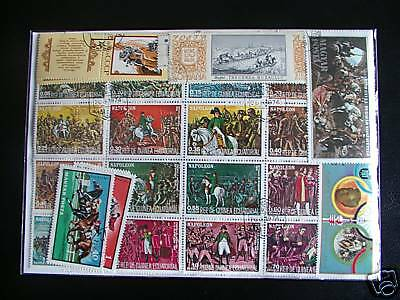 ******** Timbres Chevaux : 50 Timbres Tous Differents *********