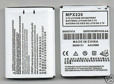 Lot 10 New Battery For Motorola Mpx220 Snn5747A
