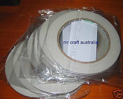 500 Metres Double Sided Tape 6mm width