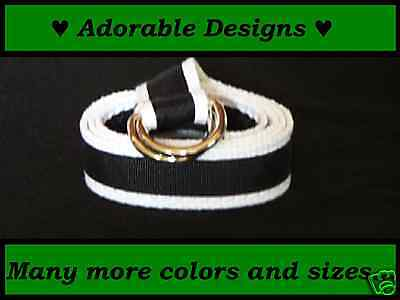 *boy/girl Children/toddler/kid Adjustable D-Ring Belts*