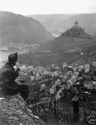WWI  Moselle River Fourth Army Cochem Germany 1919