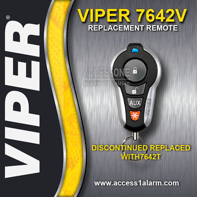 Viper 7642V SST Responder Remote Control Replacement Transmitter EZSDEI7642