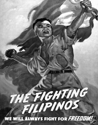 The Fighting Filipinos 1943 WWll WW2 Philippines