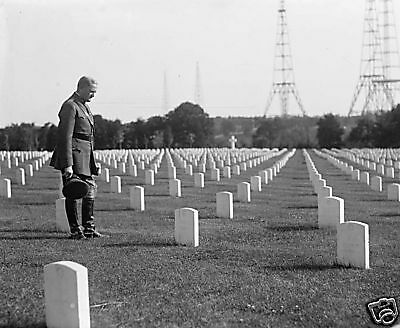Gen John Pershing  Arlington Cemetery Washington  1918