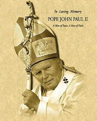 35x23 Features All 263 Popes From St.Peter-John Paul II Pope Poster Giant Size