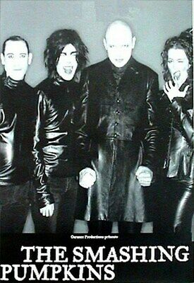 THE SMASHING PUMPKINS POSTER Leather Group Shot NEW HOT