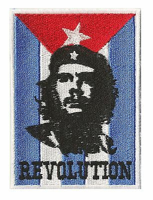 Ecusson brodé patche Che Guevara Cuba thermocollant écusson patch revolucion
