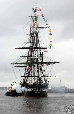 The USS Constitution Old Ironside 2006 21 Gun Salute